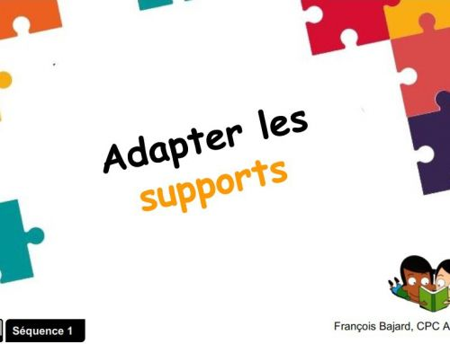 Adaptation des supports scolaires